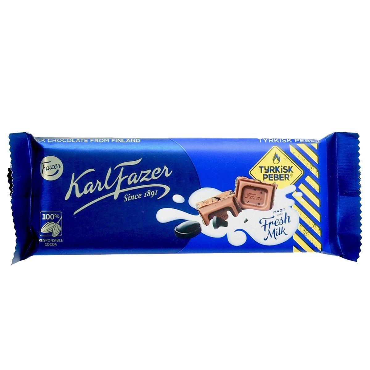 Fazer Schokolade mit Tyrkisk Peber (70g) 1