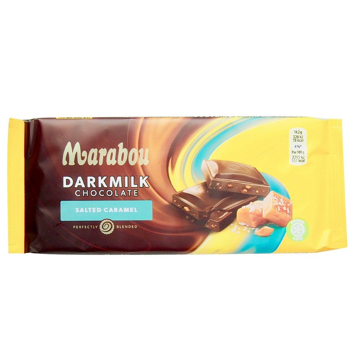 Marabou Darkmilk salted caramel (85g) 1