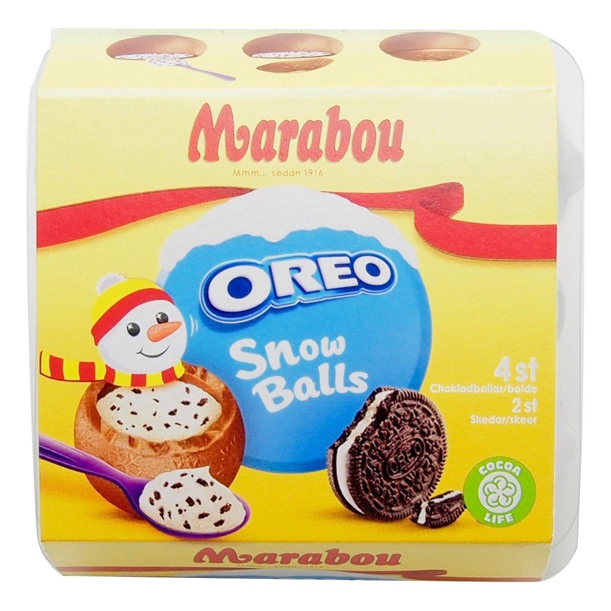 Marabou Oreo Snow Balls (112g) 1
