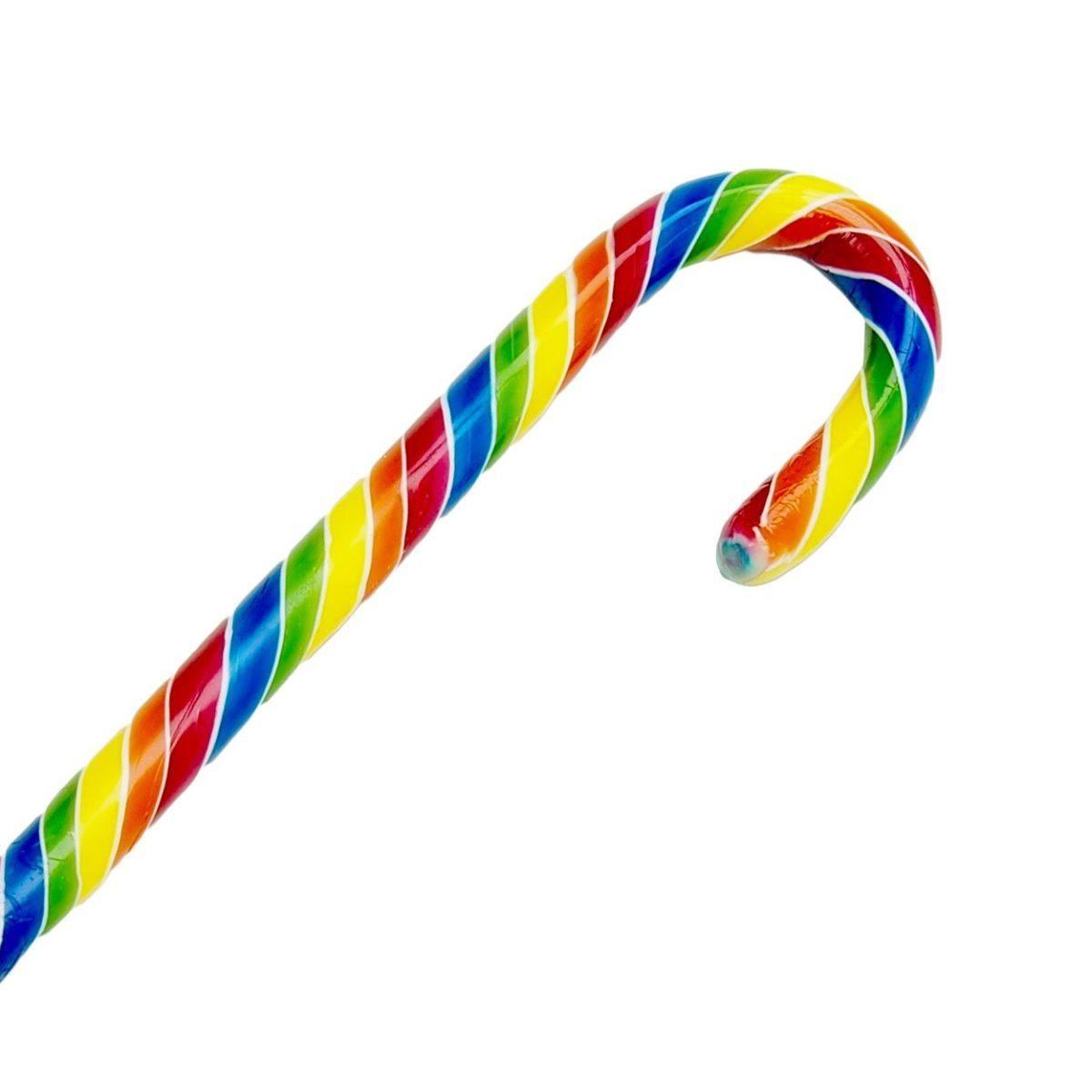 Zuckerstange Regenbogen (28g) 1