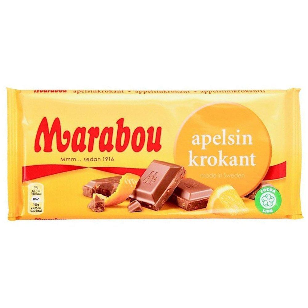 Marabou apelsinkrokant (200g) 1