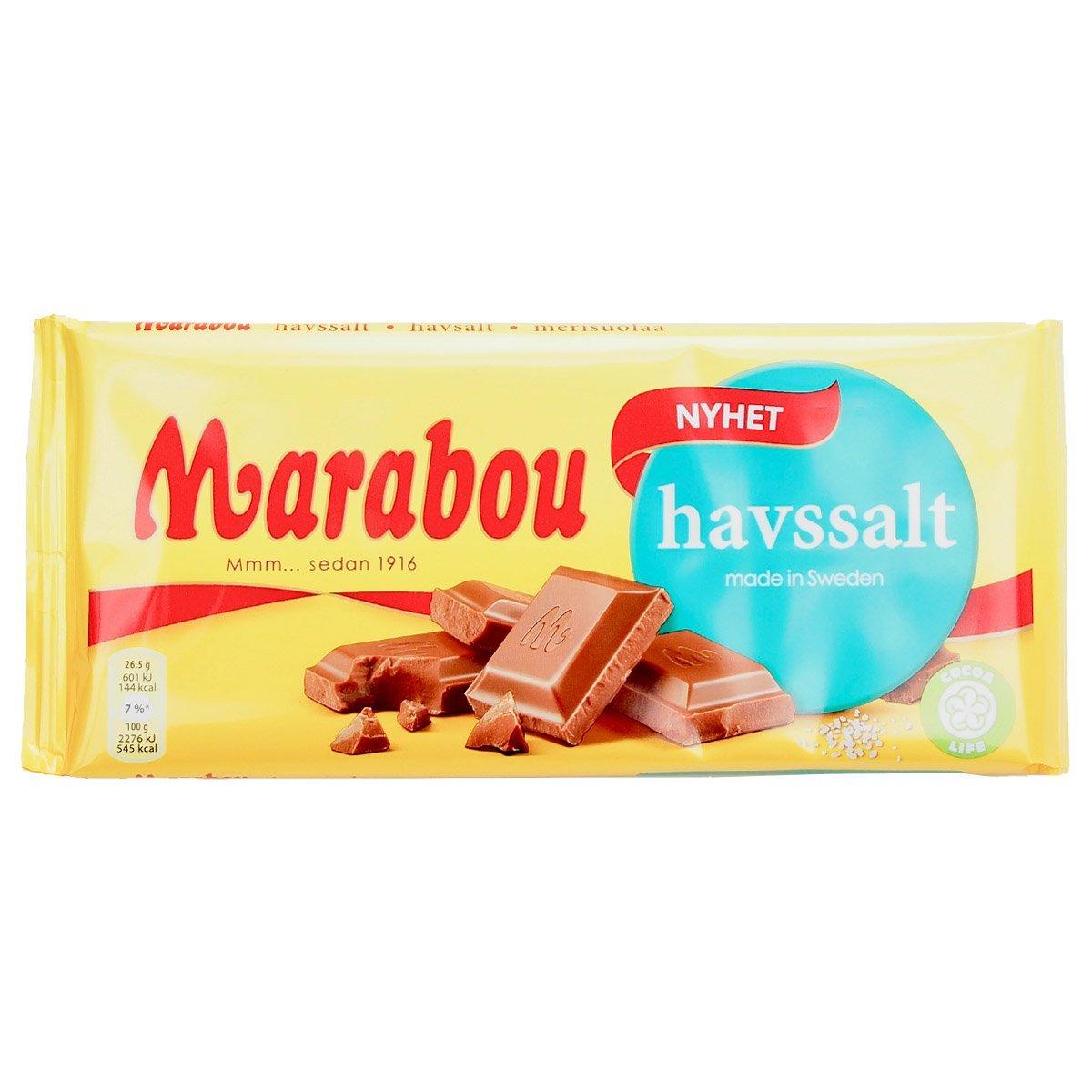 Marabou havssalt (185g) 1