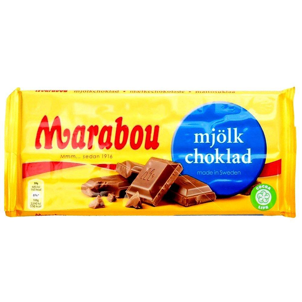 Marabou mjölkchoklad - Milchschokolade(200g) 1