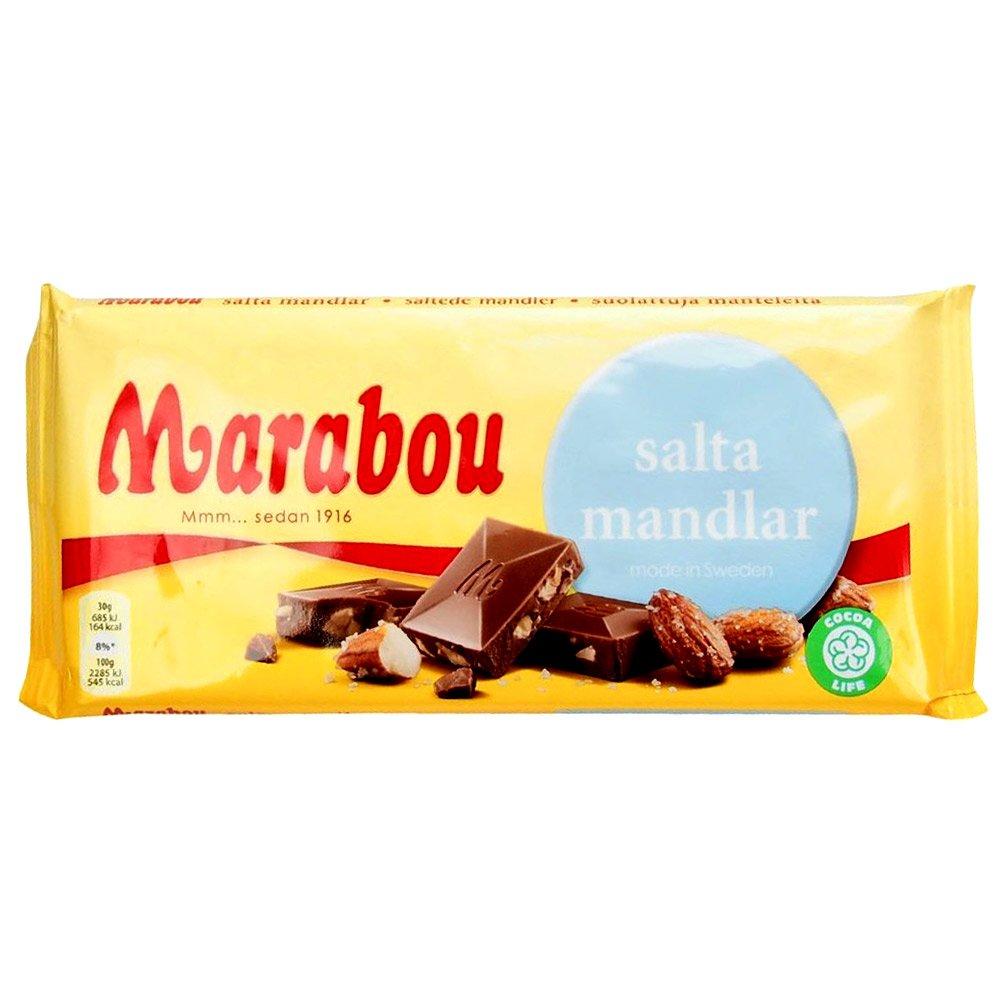 Marabou salta mandlar (200g) 1