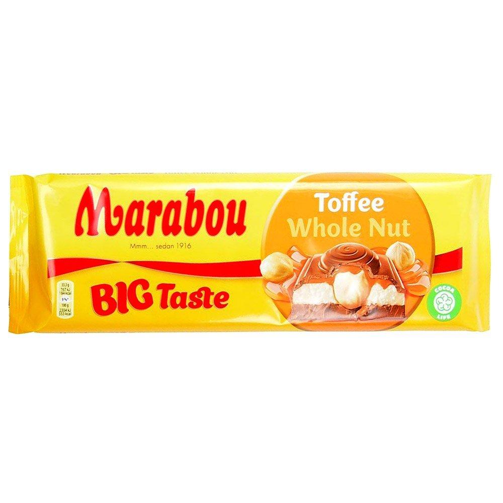 Marabou BIG Taste Toffee Whole Nut (300g) 1