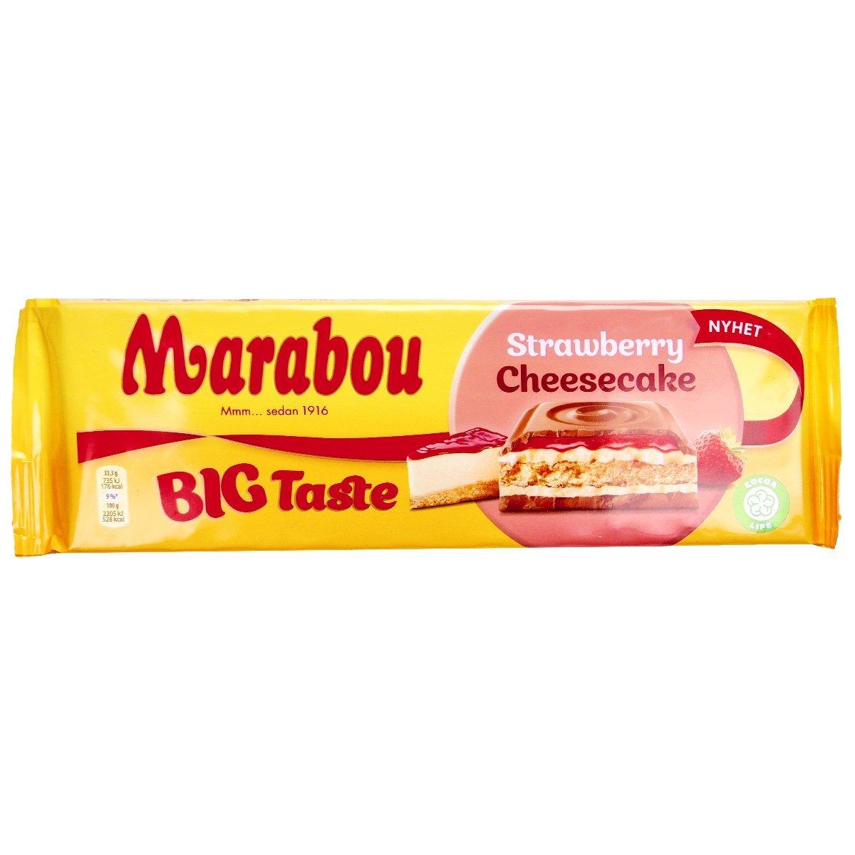 Marabou Big Taste Strawberry Cheesecake (300g) 1