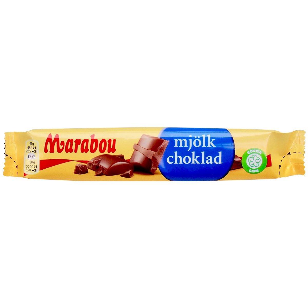 Marabou mjölkchoklad Riegel – Milchschokolade (43g) 1