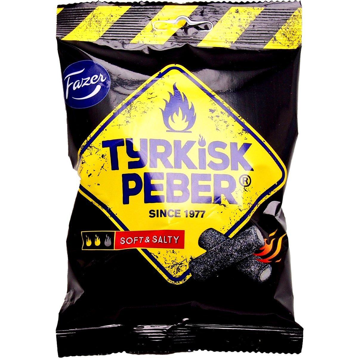 Fazer Tyrkisk Peber Soft & Salty (120g) 1