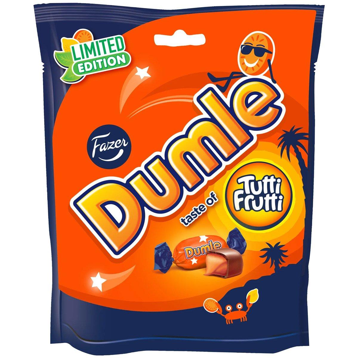 Fazer Dumle Tutti Frutti (220g) 1