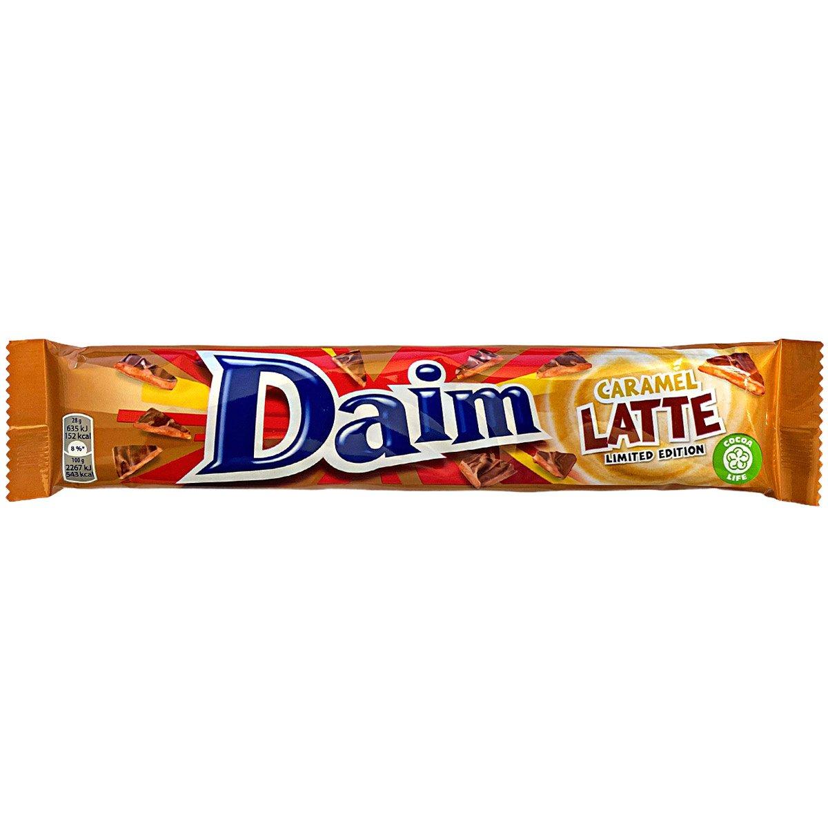 Daim Caramel Latte Chocolate Limited Edition (28g) 1